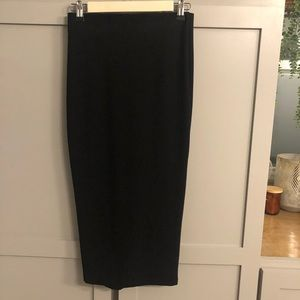 Like New ZARA Black Pencil Skirt